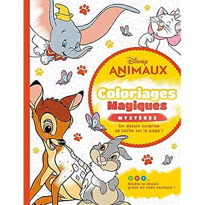 DISNEY ANIMAUX - Coloriages Magiques - Mystères: Mystères - Animaux