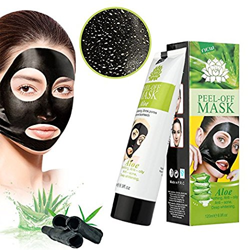 51MFWGxDh7L - MEINAIER Blackhead Remover Mask,Blackhead Peel Off Mask,Purifying Peel-off Mask Black Mud Pore Removal Strip Mask For Face Nose Acne Treatment (Aloe vera)