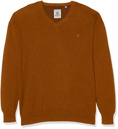 LERROS Große Größen Herren Lerros Pullover Größen Orange (Soft Copper 941)