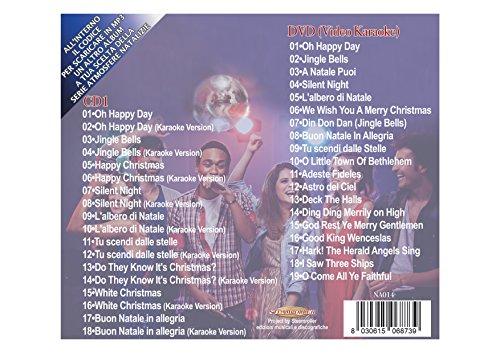 Buon Natale Karaoke.Christmas Karaoke Cd Dvd Canzoni Di Natale Christmas Songs