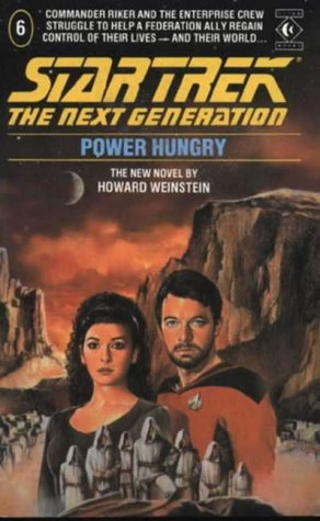 Cover of Power Hungry (Star Trek: The Next Generation 6)
