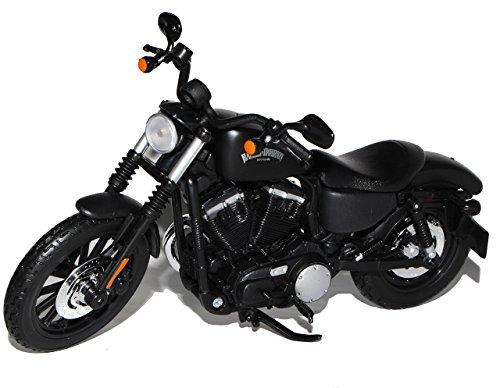 Harley Davidson Sportster Iron 883 Schwarz 2014 1/12 Maisto Modell Motorrad Modell Auto (Autos Harley Davidson Modell)