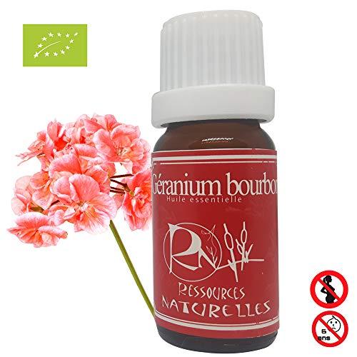 Huile essentieelle Géranium Bourbon Bio 10 Ml