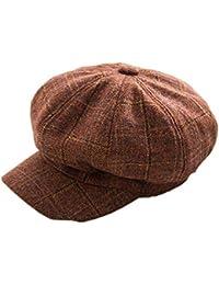 ZOODQ Sombrero de señora Beret Estilo francés Boinas de Lana para Mujer  Retro Gorros Clásicos Gorra 908d6549dea