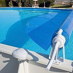 Enrollador de Manta Solar para Piscina Elevadas Telescópico max 6,50 metros