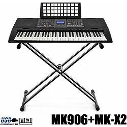 Teclado Electrónico MIDI Piano - 61 Teclas