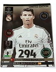 Panini Adrenalyn Champions League 2014 2015 Ronaldo Madrid limited Edition