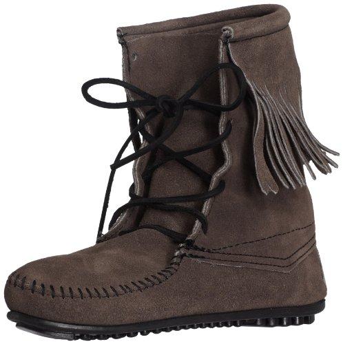 Minnetonka Tramper Ankle high boot 428, Damen Stiefel, Grau (Grey), 36 -