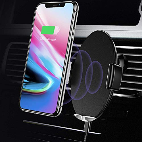 automatico wireless supporto 10 W Qi wireless Car charger Mount Air Vent rapida caricatore auto Phone Holder touch Sensitive for iPhone XS max/XR/XS/x/8 Plus, Samsung Galaxy S9 Plus/S8/S8 Plus e più
