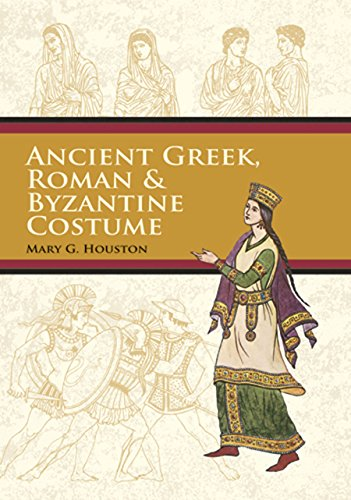 Ancient Greek, Roman & Byzantine Costume (Dover Fashion and Costumes) (English Edition)
