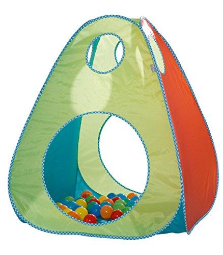 roba Spielzelt 'Bällebad', Kinderzelt / Spielhaus inkl, 100 Bällen inkl, Tasche für Kleinkinder