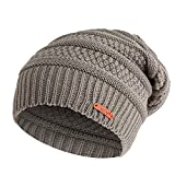 Cebbay Bonnet Hommes Unisexe Femmes Chapeau,Mode Casquette Ski Beanie Skull Slouchy Cap,Hiver Chapeaux Doux Headwear Caps Hat...