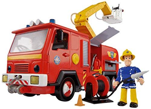 Feuerwehrmann Sam 109251063 - Fahrzeug Jupiter mit Figur