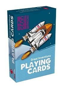 BrainBox - Cartas Inventos Science Museum, juego de cartas con inventos, en inglés (70003)