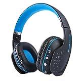 TECKEPIC Casque gaming Supra-Auriculaires Casque Audio Bluetooth 4.1 CSR kit mian libre Avec Microphone intégré Pour iOS iPhone x,8/Plus Android,PS4 PC Tablette
