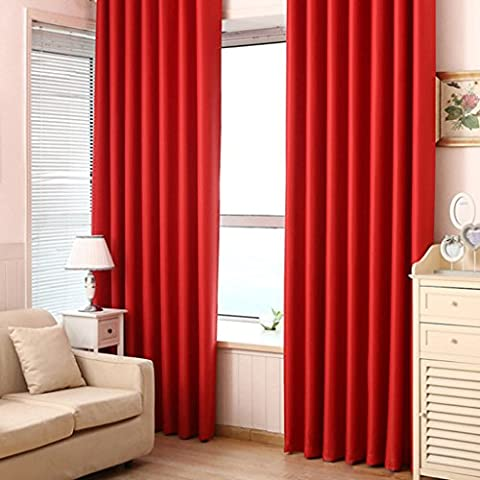 simpvale atossici termico Tende Oscurante per finestra SMART Drapery pannelli,