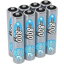 Ansmann Recargable LSD batería Baja autodescarga maxE NiMH precargadas Listo Alta Capacidad