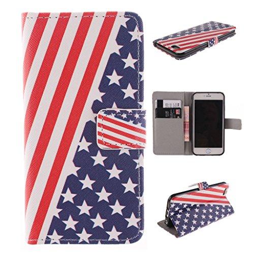 Nutbro [iPhone 6S] 6S Case,PU Leather iPhone 6S Case,iPhone 6S Phone Case,iPhone 6S Phone Cover Case PU Leather Case Wallet for iPhone 6S ZZ-iPhone6S-20