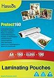 CB Supplies Lot de 100 pochettes à plastifier 160 microns (2 x 80 microns) Format A4