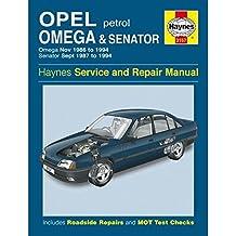 Opel Omega & Senator Petrol (Service & Repair Manuals)