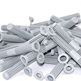 10 Siebhülsen, Ankerhülsen für Verbundmörtel Ø 12 mm x 80mm