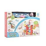 #8: IGP 24 Pcs Slide Rail Toy Car Set