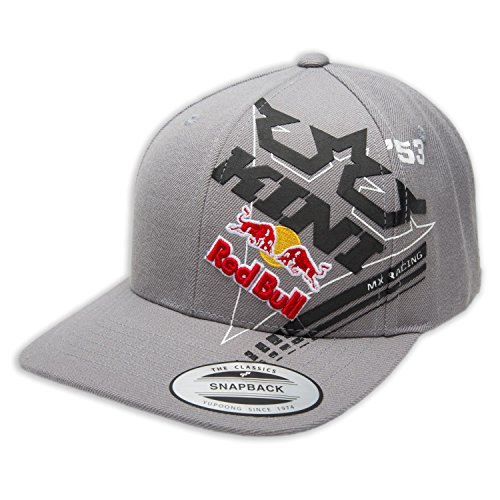 Kini Red Bull Cap Ribbon Grau