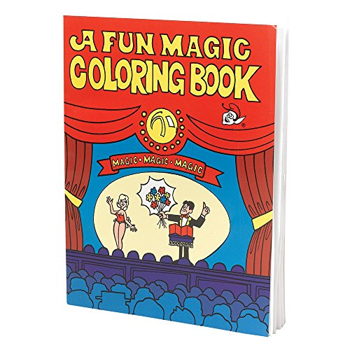 6 Magic Malbuch, mehrfarbig, one size (Magic Coloring Book)