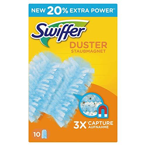Swiffer Duster Ersatztücher für Staubwedel, 6 Packungen mit je 10 Stück