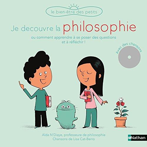 Je découvre la philosophie - Livre-CD - Dès 5 ans