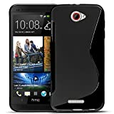 HTC One S Silikon Hülle Case in Schwarz Cover One S