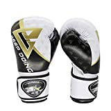 CX TECH Muay Thai Training Boxing Equipment PRO Style Guantoni da Boxe Arti Marziali Training Punzonatura Guanto Muay Thai Muta da Sacco,8OZ