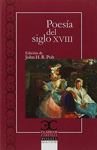 Poesía del siglo XVIII (CLASICOS CASTALIA. C/C.)