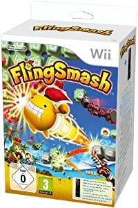 FlingSmash inkl. Wii Remote Plus, schwarz