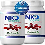 NKO Krillöl Kapseln (Testsieger) 30, 90 oder 180 Stück in Apothekenqualität von MoriVeda - Omega 3,6,9 Astaxanthin, Vitamin E, Choline, Phospholipide, Krill Öl (180 Softgel Kapseln)
