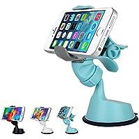 thanly universale 360gradi di rotazione con ventosa parabrezza cruscotto Phone Holder Desktop Stand Clip Supporto per iPhone, Blackberry, Samsung S7S6Edge Plus S5S4S3Note 2345LG