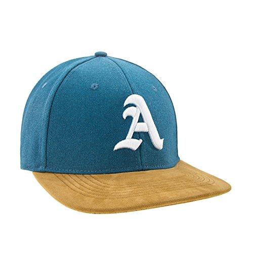 Nouveau Snapback Cap toit en suède Casquette de Baseball Bonnet Cap Chapeau Snap back 3D Gothique A (A White)