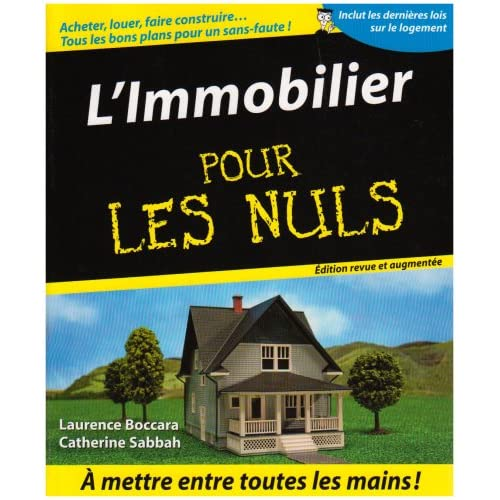 IMMOBILIER POUR LES NULS 2ED