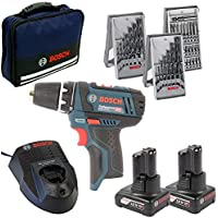 Bosch GSR 12V-15 + 2x 4,0Ah in Tasche, 1 Stück, 0615990HV1