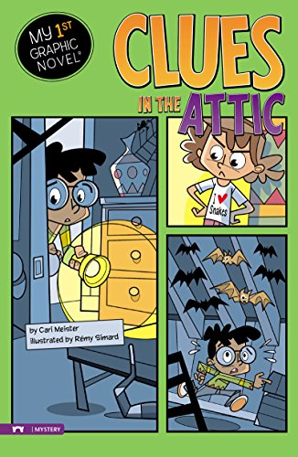 Clues in the Attic (My First Graphic Novel) (English Edition) -