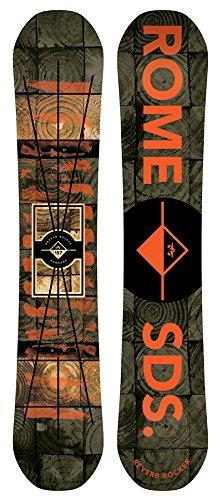 ROME Herren Freestyle Snowboard Reverb Rocker 157 (Rocker Reverb)