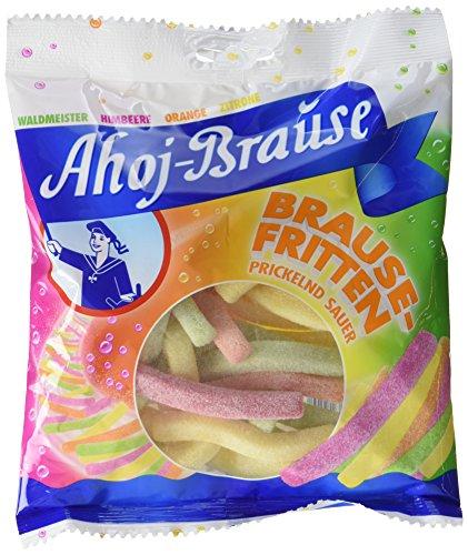 Preisvergleich Produktbild Ahoj Brause Fritten,  12er Pack (12 x 225 g)