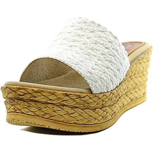 Sbicca Bungalow Damen Textile Sandale White