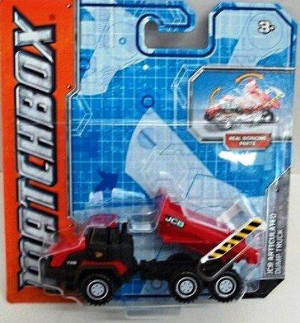 Matchbox Real Working Rigs - JCB Articulated Dump Truck (Red/Black) by Matchbox (Red Truck Dump)