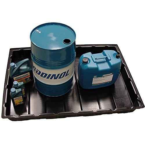 HDPE Auffangwanne 124cm x 84 cm x 13cm | Lagerwanne passend für Europalletten | gegen viel Chemikalien beständig | Öl Auffangwanne