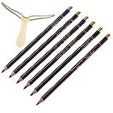Kaigeli 6 Stk Wasserfest Lasting Augenbrauenstift Brauenstift Eyebrow Pencil
