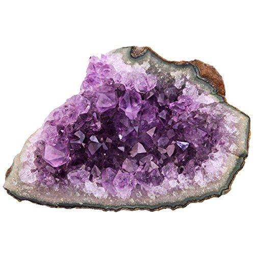 druse amethyst Shanxing Natürlichen Amethyst Drusensegment Rohstück Edelstein Kristall Druse kleines Naturstück Dekoration 45-100 gramm