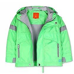 Cherry Crumble Sleek Popper Jacket For Boys