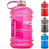 NOQUIT Premium Water Jug 2L - XXL Fitness Trinkflasche zur Leistungssteigerung im Bodybuilding - Grosse 2.2L Sport Wasserflasche - Gallon Water Bottle - 2 Liter Gym Wasser Flasche