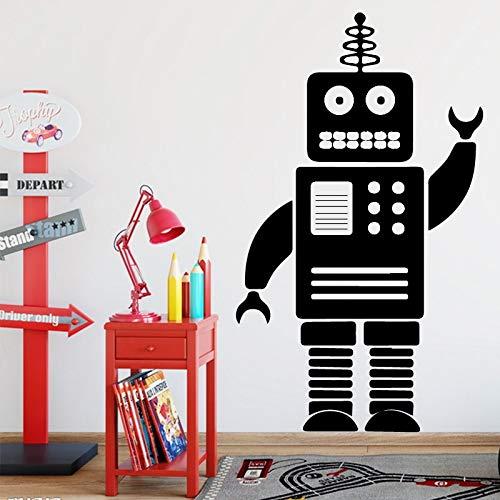 Roboter Wandtattoos Abziehbilder Heimtextilien Kinderzimmer Wandtattoos 58 Cm * 98 Cm